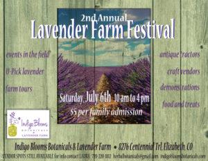 2nd Annual Indigo Blooms Botanicals Lavender Festival